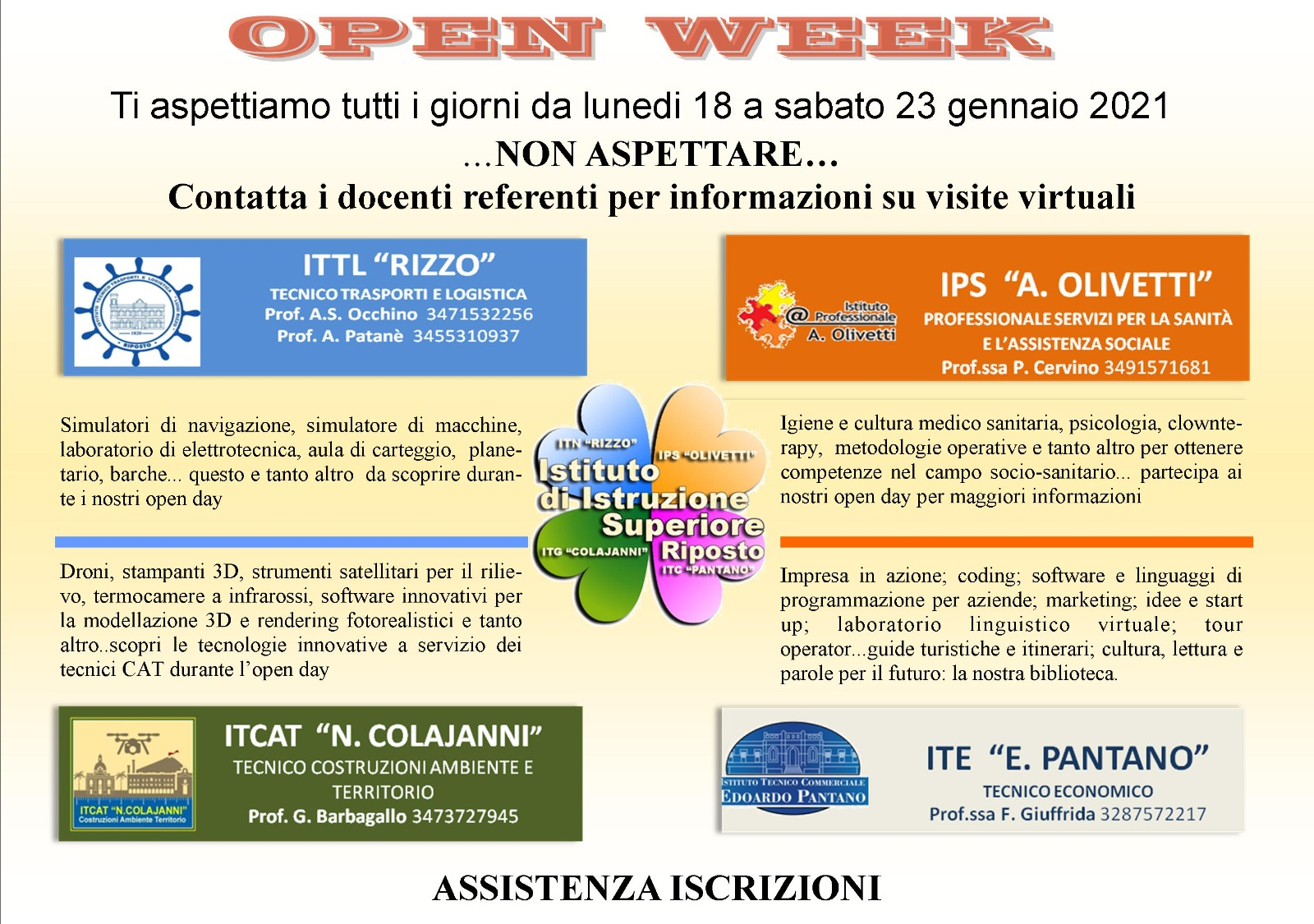 OPENDAY DAL 18